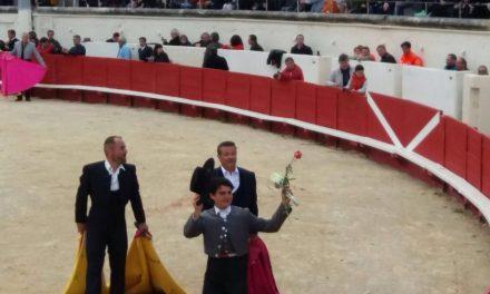 """Michelito y """"El Galo"""" tocan pelo en Béziers"""