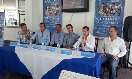 """""""El Toreo se viste de Azul"""" en Ciudad Lerdo"""