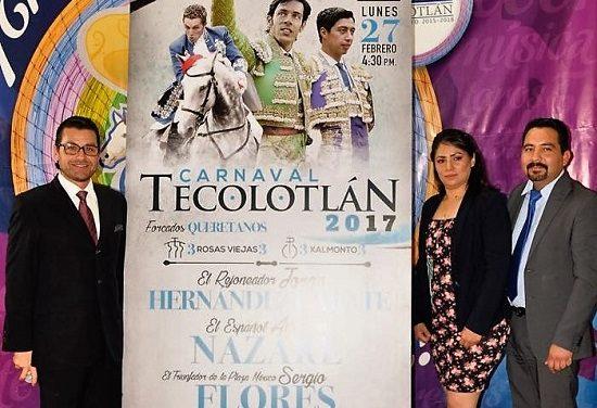 Corrida tradicional en Tecolotlán