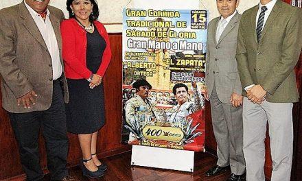 Alberto Ortega y El Zapata  mano a mano en Tlaxcala