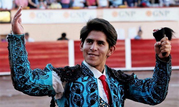 Triunfa Juan Pedro Herrera con ansia de novillero