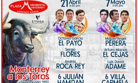 Con dos carteles de lujo continúa  Monterrey