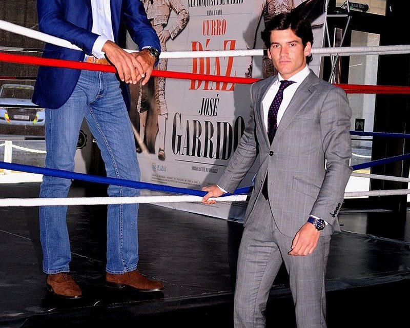 Curro Díaz y José Garrido cara a cara en un ring