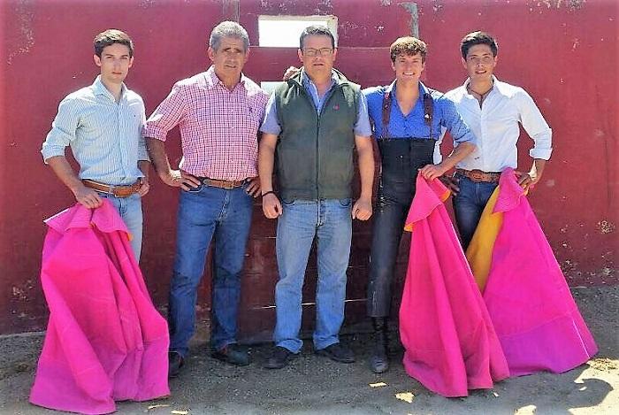 José Mari Pastro continúa en el campo bravo español