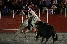 Hermoso de Mendoza sufrió un accidente en su finca