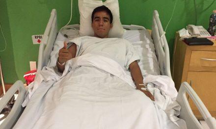 Antonio Romero fue intervenido exitosamente