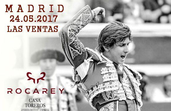 Roca Rey causa expectación para su presentación en Las Ventas