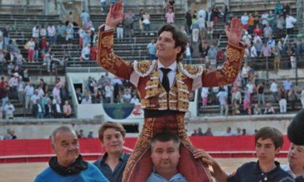 José Garrido indulta en Nimes