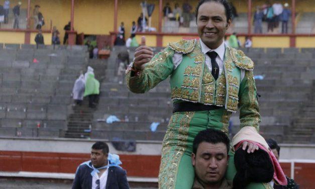 José Luis Angelino triunfador en la corrida de la prensa