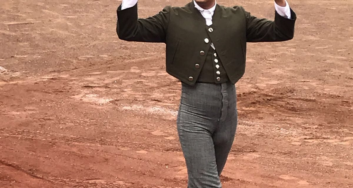 Pepe López  triunfador en Maravatío