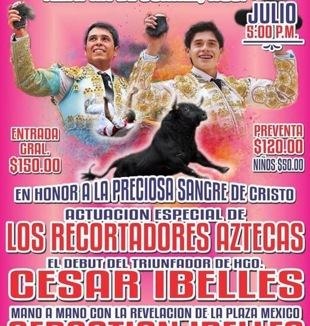 César y Sebastián Ibelles anunciados en  Teltipán