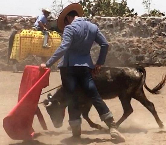 Intensas labores del campo realizó «El Chihuahua»