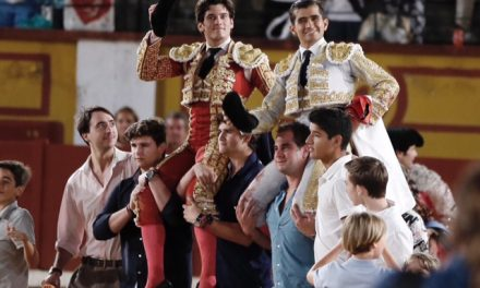 Garrido y Adame, a hombros en Badajoz