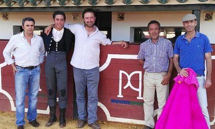 José María Pastor lidió un toro a puerta cerrada