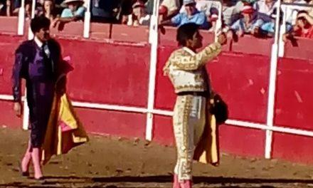 Cayetano Delgado cortó una oreja en Badajoz