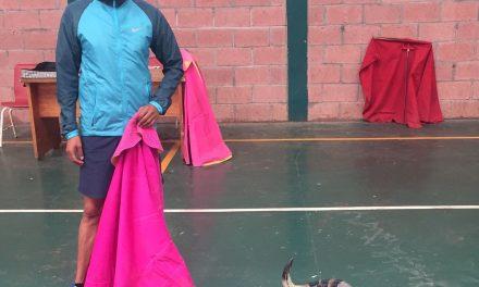 El matador Antonio Romero ya entrena el toreo de salón