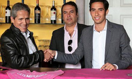 Antonio Urrutia apodera a Manuel Gutiérrez