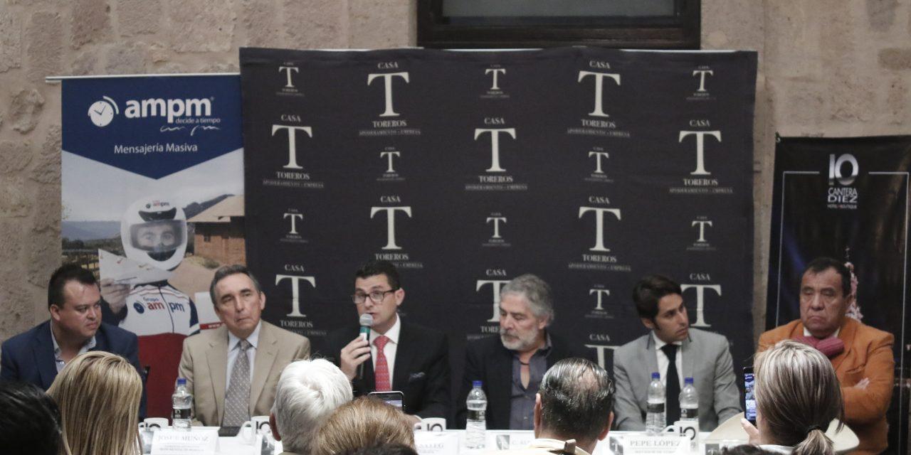 Casa Toreros anuncia su primera etapa de festejos en Morelia
