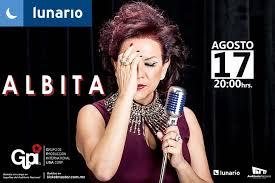 """Albita hoy en """"EL Lunario"""""""