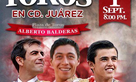 Macías, Flores y Sánchez en Ciudad Juárez