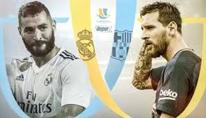 Final partido de Vuelta Supercopa de España, R.Madrid vs Barcelona
