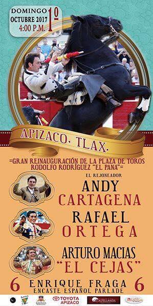 """Todo listo para la corrida """"La Fiesta del Toro"""""""