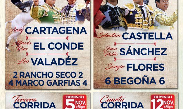 Quedaron definidos los carteles para Guadalajara