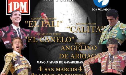 """""""El Pali"""", """"Calita"""", """"El Canelo"""" y Angelino de Arriga en Los Azulejos"""