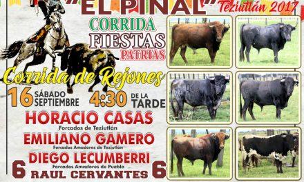 Gamero el 16 de septiembre en Teziutlán