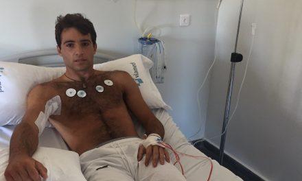 Rafael Serna: «He pasado la noche muy dolorido aunque sin fiebre»