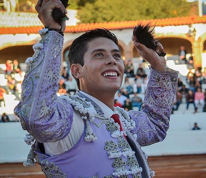 José María Pastor en la novillada de triunfadores