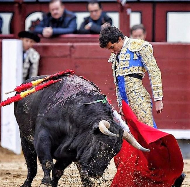 Leo Valadez en las Ventas antes de su alternativa