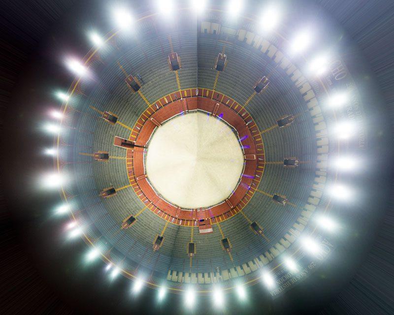 Nueva iluminación en la Plaza de Acho