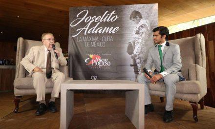Se presenta Joselito Adame ante la afición y medios tapatíos