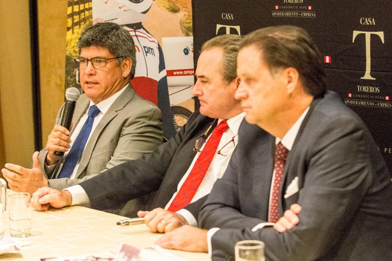 Colombo tomará la alternativa en Lima