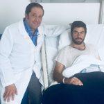 Fermín Rivera sufre cornada en la dehesa de José Julián Llaguno