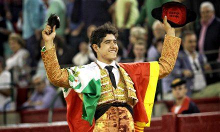 Oreja de peso para Luis David en Zaragoza