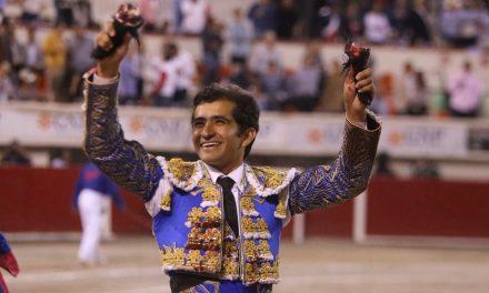 Triunfal tarde de Joselito Adame en Mérida