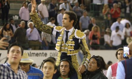 Dos orejas y Puerta Grande  a Juan Pablo Sánchez