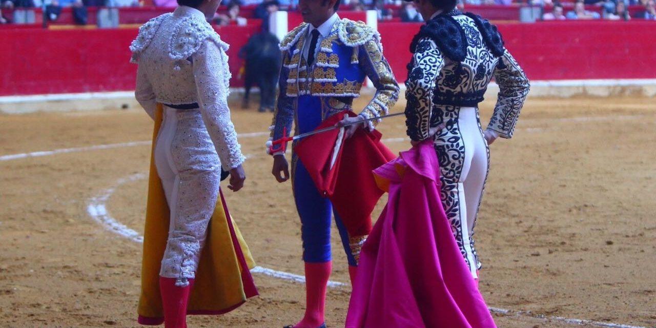 Leo Valadez cortó una oreja en su alternativa en Zaragoza