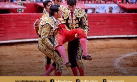 Luis Manuel Castellanos herido en el muslo derecho