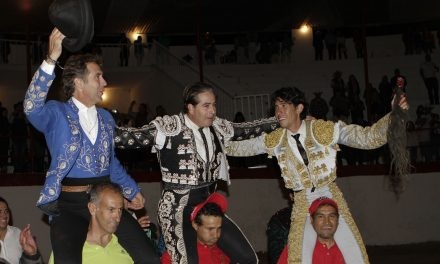 Comparten triunfo Hermoso de Mendoza, Murillo y Martínez Vértiz