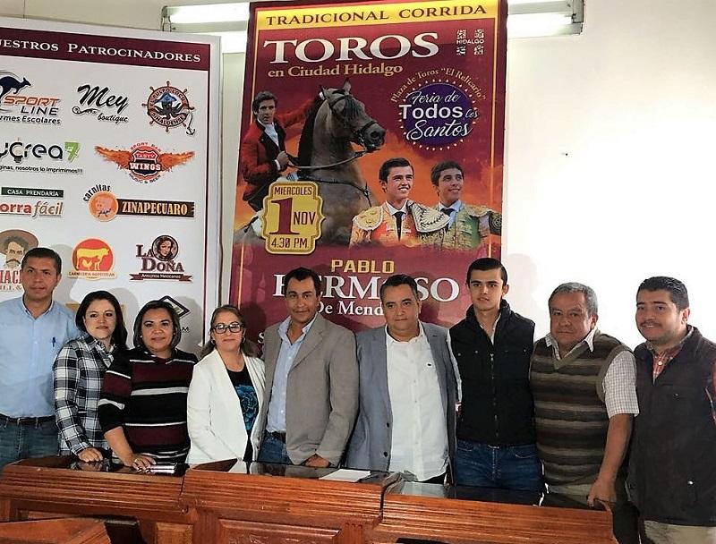Anuncian corrida  de feria en Ciudad Hidalgo