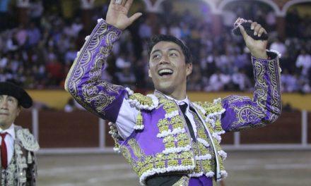 Sergio Flores cortó una oreja en Tlaxcala