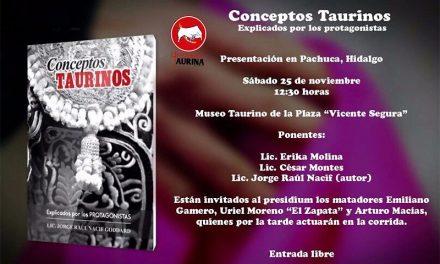 """""""Concepto Taurinos"""" se presenta en Pachuca"""