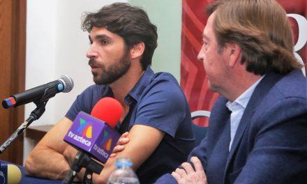"""""""Me hace ilusión venir a México"""": Cayetano Rivera Ordóñez"""