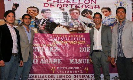 Anuncian corrida de la Revolución en Pabellón de Arteaga