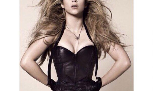 Shakira lastimada de cuerda vocal