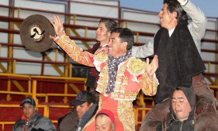 Ortega, Gamero y Pimentel salen a hombros