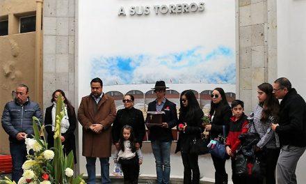 Descansa Fabián Ruiz en el Mausoleo de Toreros